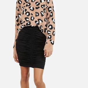 Express Ruched Pencil Skirt